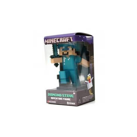 Jinx Minecraft 10cm Diamond Steve Vynil Adventure Figure