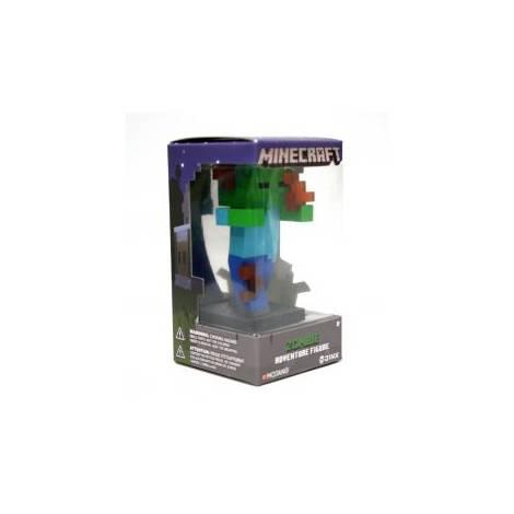Jinx Minecraft 10cm Flaming Zombie Vynil Adventure Figure