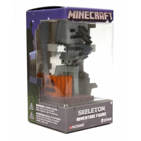 Jinx Minecraft 10cm Skeleton Archer Vynil Adventure Figure