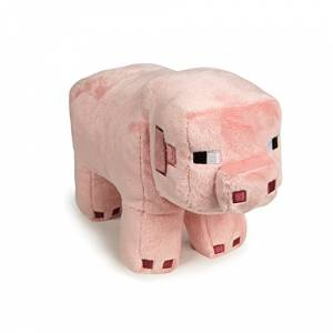 Jinx Minecraft 30cm Pig Plush Pink