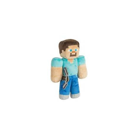 Jinx Minecraft 30cm Steve Plush