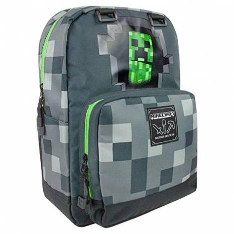 Jinx Minecraft CREEPY CREEPER 43,2cm BACKPACK - Dark Grey