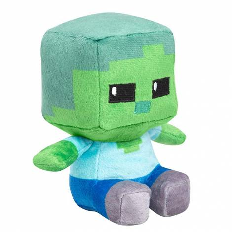 Jinx Minecraft Mini Crafter Zombie Plush (11cm)