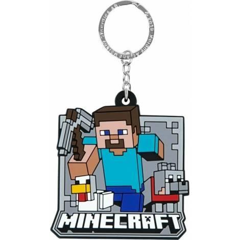 Jinx Minecraft Mobs Group Rubber Keychain