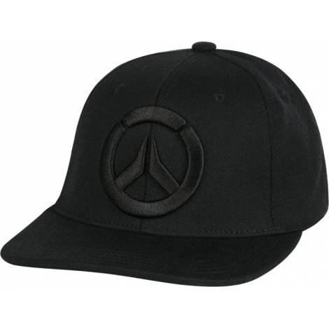 Jinx Overwatch Blackout Snap Back Hat (7277)