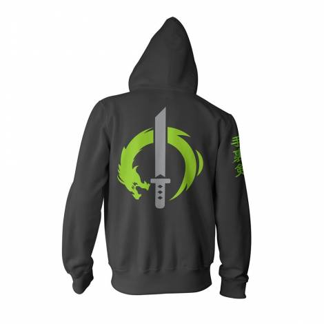 Jinx Overwatch Ultimate Genji Zip-Up