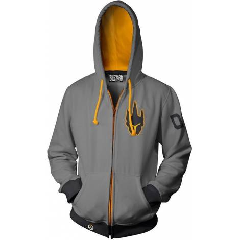 Jinx Overwatch Ultimate Reinhardt Zip-Up Hoodie