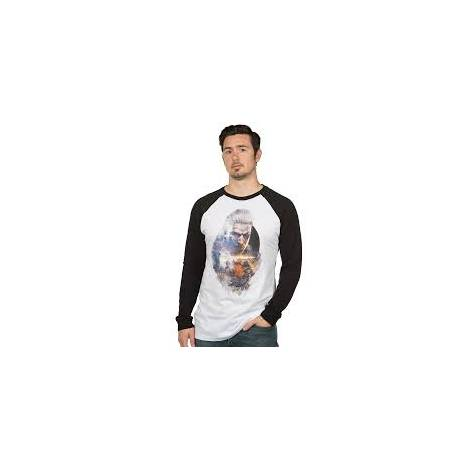 Jinx Witcher Geralt Men's Raglan