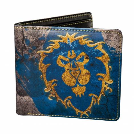 Jinx WoW Alliance PU Wallet with hanger