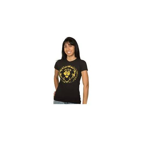 Jinx WoW Alliance Shield Women's Tee