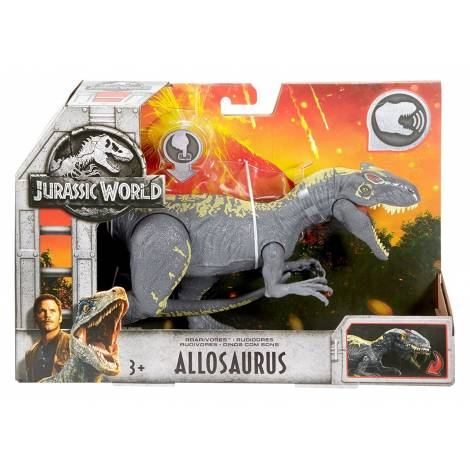 Jurassic World Roarivores Allosaurus Figure (FMM30)