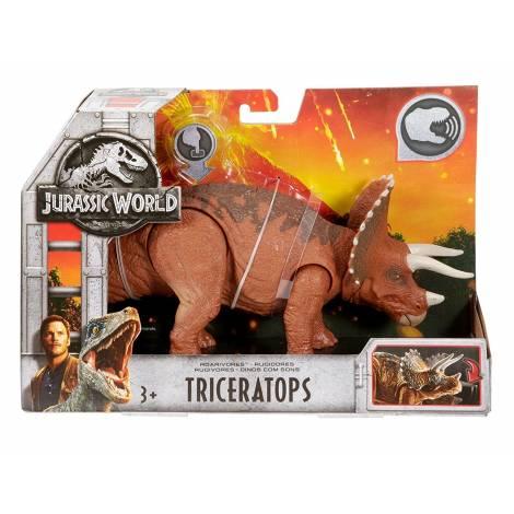 Jurassic World Roarivores Triceratops Figure (FMM24)