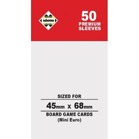 Κάισσα – Premium Sleeves 45x68 (Mini Euro) (50 sleeves)