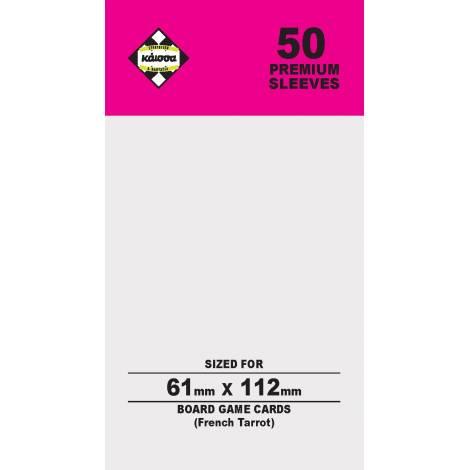 Κάισσα – Premium Sleeves 61x112 (French Tarrot) (50 sleeves)