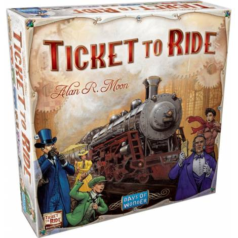 (Κάισσα)  Ticket to Ride: USA
