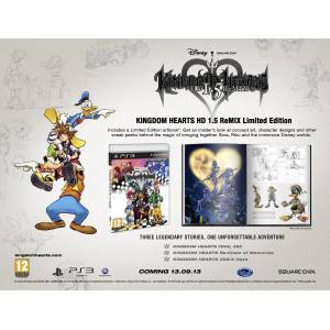 Kingdom Hearts HD 1.5 REMIX Limited Edition (PS3)