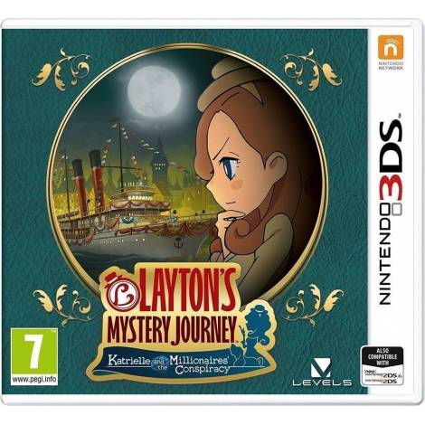 Layton's Mystery Journey Katrielle and The Millionaire's Conspiracy (NINTENDO 3DS)