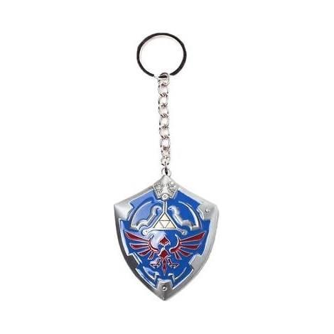 Legend Of Zelda - 3D Shield Metal Keychain (KE014703ZEL)