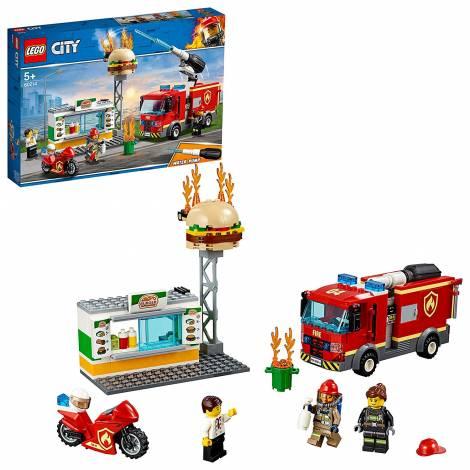 LEGO City Fire Burger Bar Fire Rescue (60214)