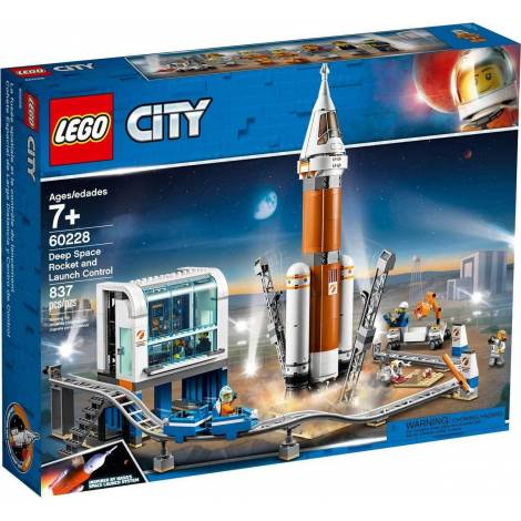 LEGO CITY SPACE PORT DEEP SPACE ROCKET AND LAUNCH CONTROL (60228)