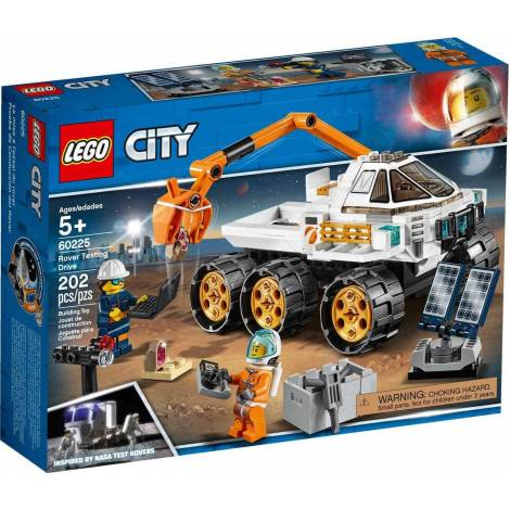 LEGO CITY SPACE PORT ROVER TESTING DRIVE (60225)