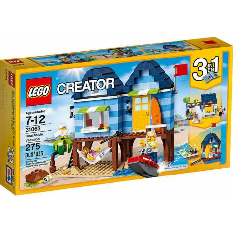 LEGO CREATOR: BEACHSIDE VACATION 3 IN 1 (31063)
