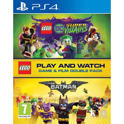 Lego DC Super-Villains Game & Film Double Pack (PS4)