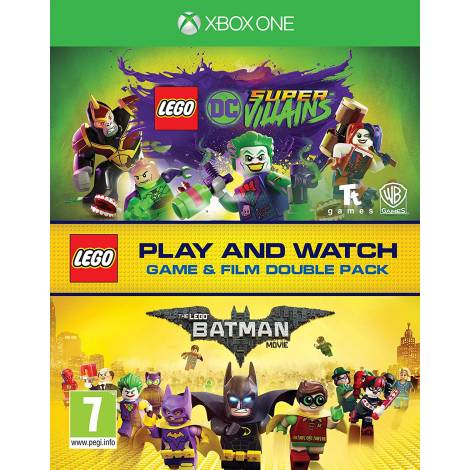Lego DC Super-Villains Game & Film Double Pack (Xbox One)