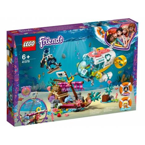 Lego Dolphins Rescue Mission (41378)