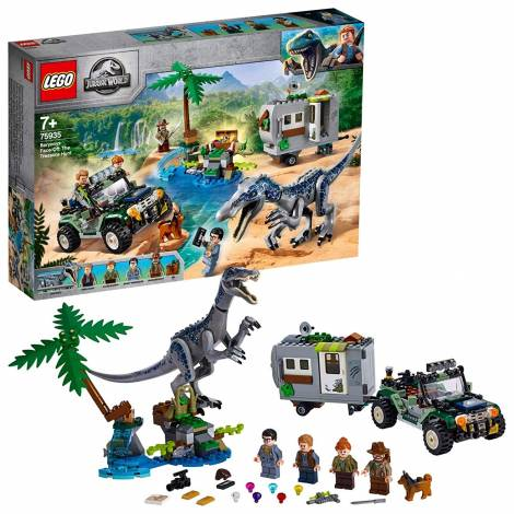 LEGO Jurassic World Baryonyx Face-Off: The Treasure Hunt (75935)