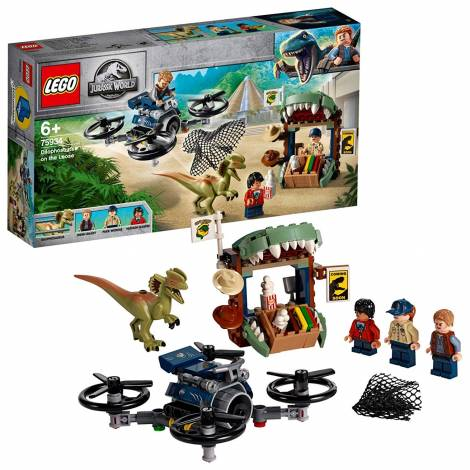 LEGO Jurassic World Dilophosaurus on the Loose (75934)