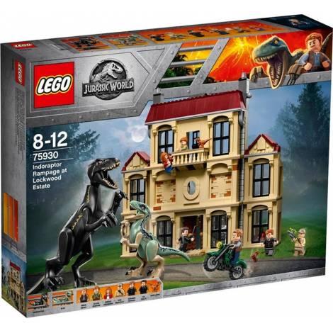 Lego Jurassic World: Indoraptor Rampage at Lockwood Estate (75930)