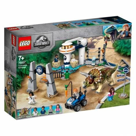 LEGO Jurassic World Triceratops Rampage (75937)