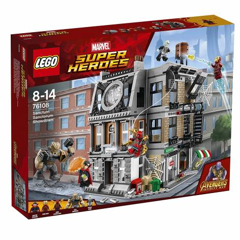 LEGO Marvel Super Heroes Sanctum Sanctorum Showdown Superhero Toy (76108)