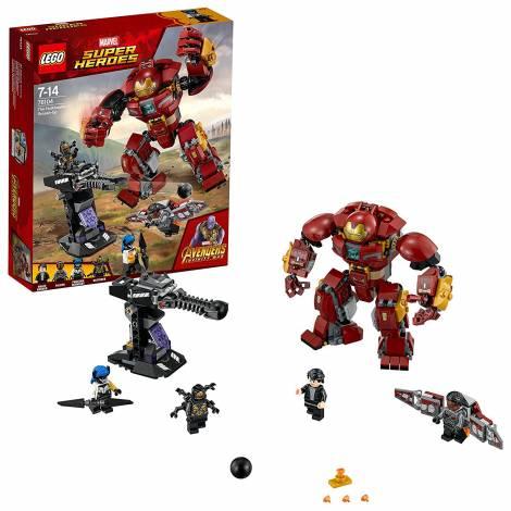 LEGO Marvel Super Heroes The Hulkbuster Smash-Up Superhero Toy (76104)