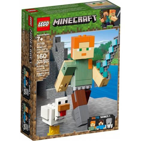 LEGO MINECRAFT ALEX BIGFIG WITH CHICKEN (21149)