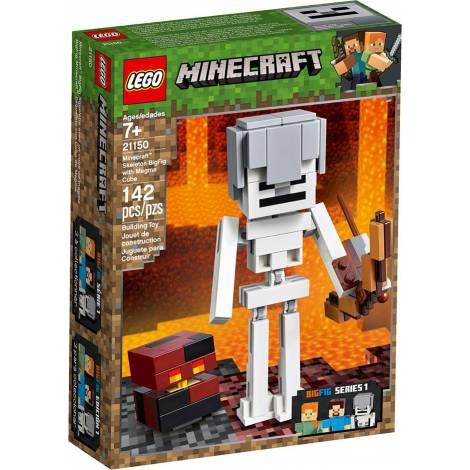 LEGO MINECRAFT SKELETON BIGFIG WITH MAGMA CUBE (21150)