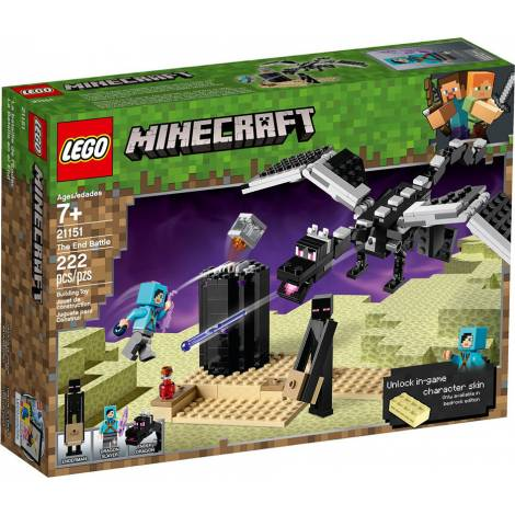 LEGO MINECRAFT THE END BATTLE (21151)