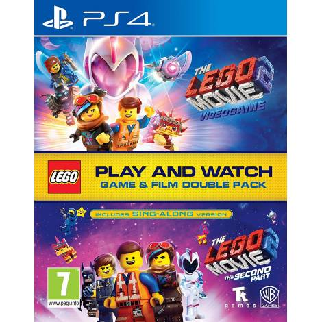 Lego Movie 2 Game & Film Double Pack (PS4)