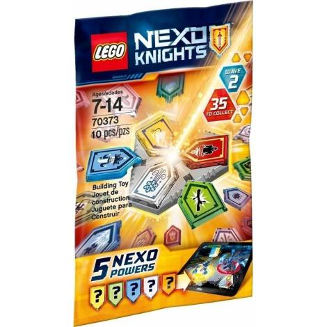 Lego Nexo Knights - Confidential BB 2017 Collectable 2HY (70373)