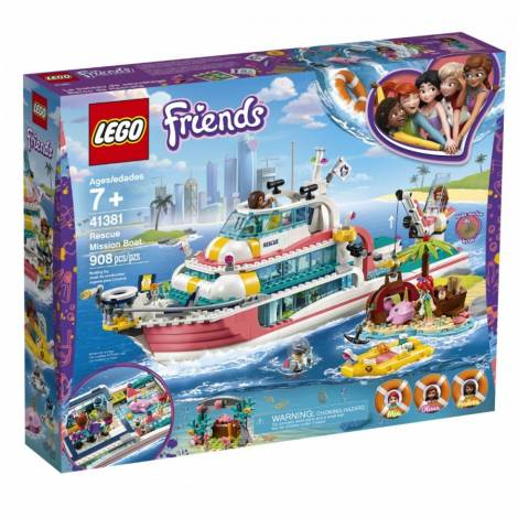 Lego Rescue Mission Boat (41381)