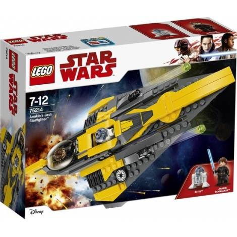 Lego Star Wars: Anakin's Jedi Starfighter (75214)