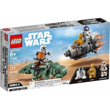 LEGO STAR WARS ESCAPE POD vs DEWBACK MICROFIGHTERS (75228)