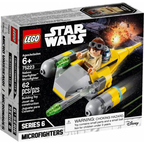 LEGO STAR WARS NABOO STARFIGHTER MICROFIGHTER (75223)