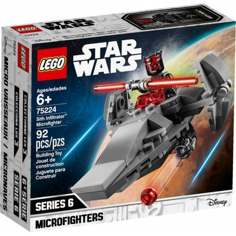 LEGO STAR WARS SITH INFILTRATOR MICROFIGHTER (75224)