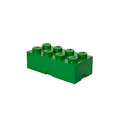 LEGO Storage Brick 8 Dark Green (49.99 x 24.99 x 17.98 cm)
