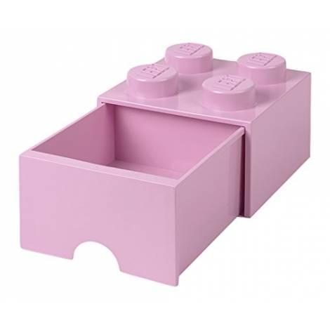 LEGO Storage Brick Drawer 4  Light Purple (12.5 x 12.5 x 18 cm)