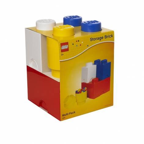 LEGO Storage Brick Multi- Pack 4 Clasic (12.5 x 12.5 x 18 cm)