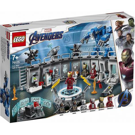 LEGO Super Heroes Iron Man Hall Of Armor (76125)