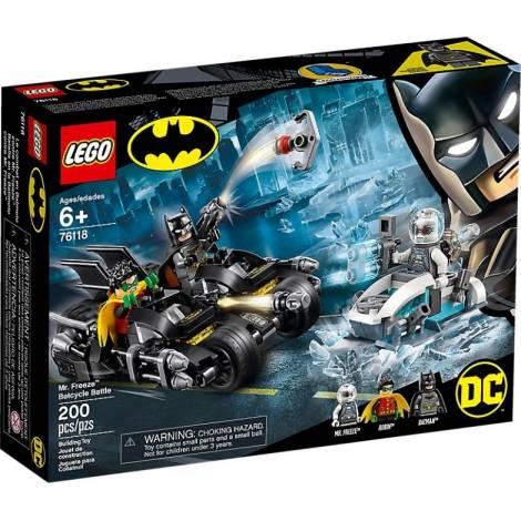 LEGO Super Heroes Mr. Freeze Batcycle Battle (76118)
